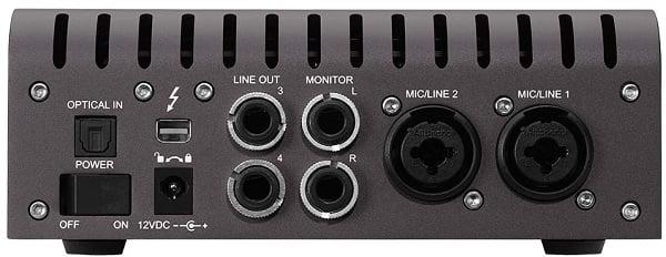 Universal Audio Apollo Twin (back)