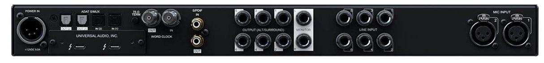Universal Audio Apollo X6 (back panel)