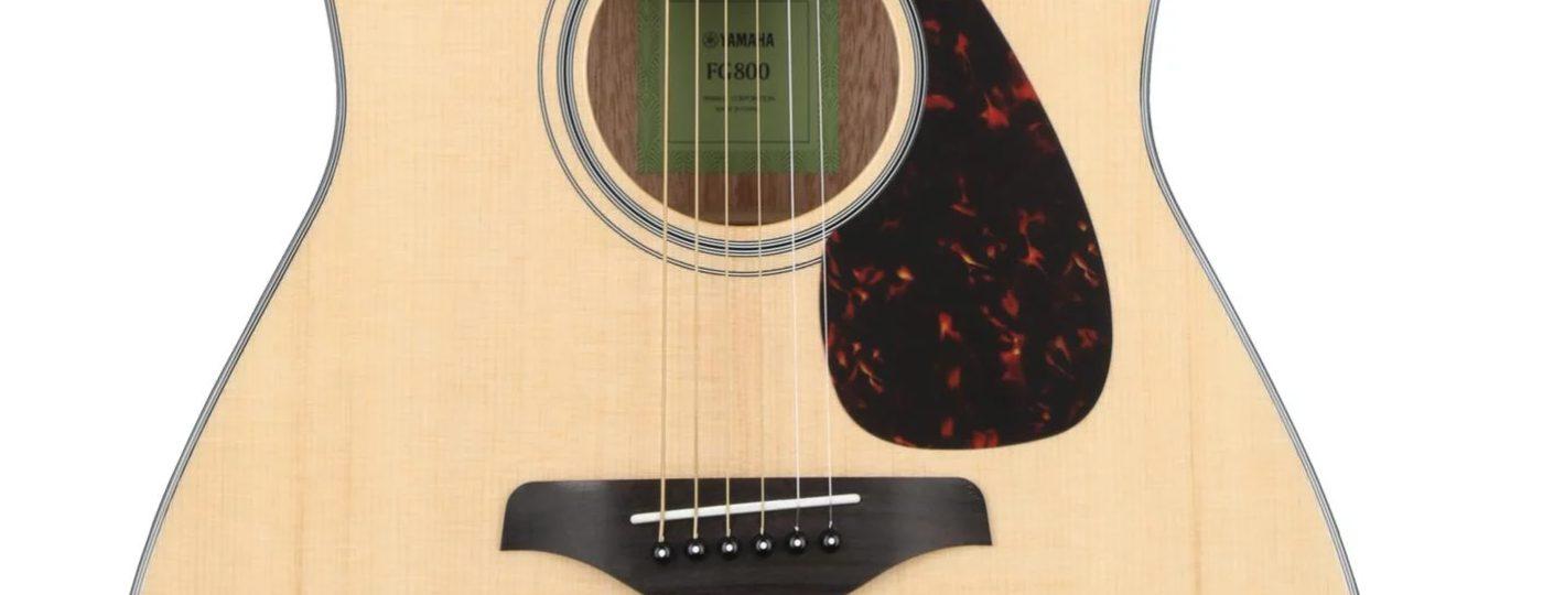 Yamaha FG800 Acoustic Guitar Photo (close up)