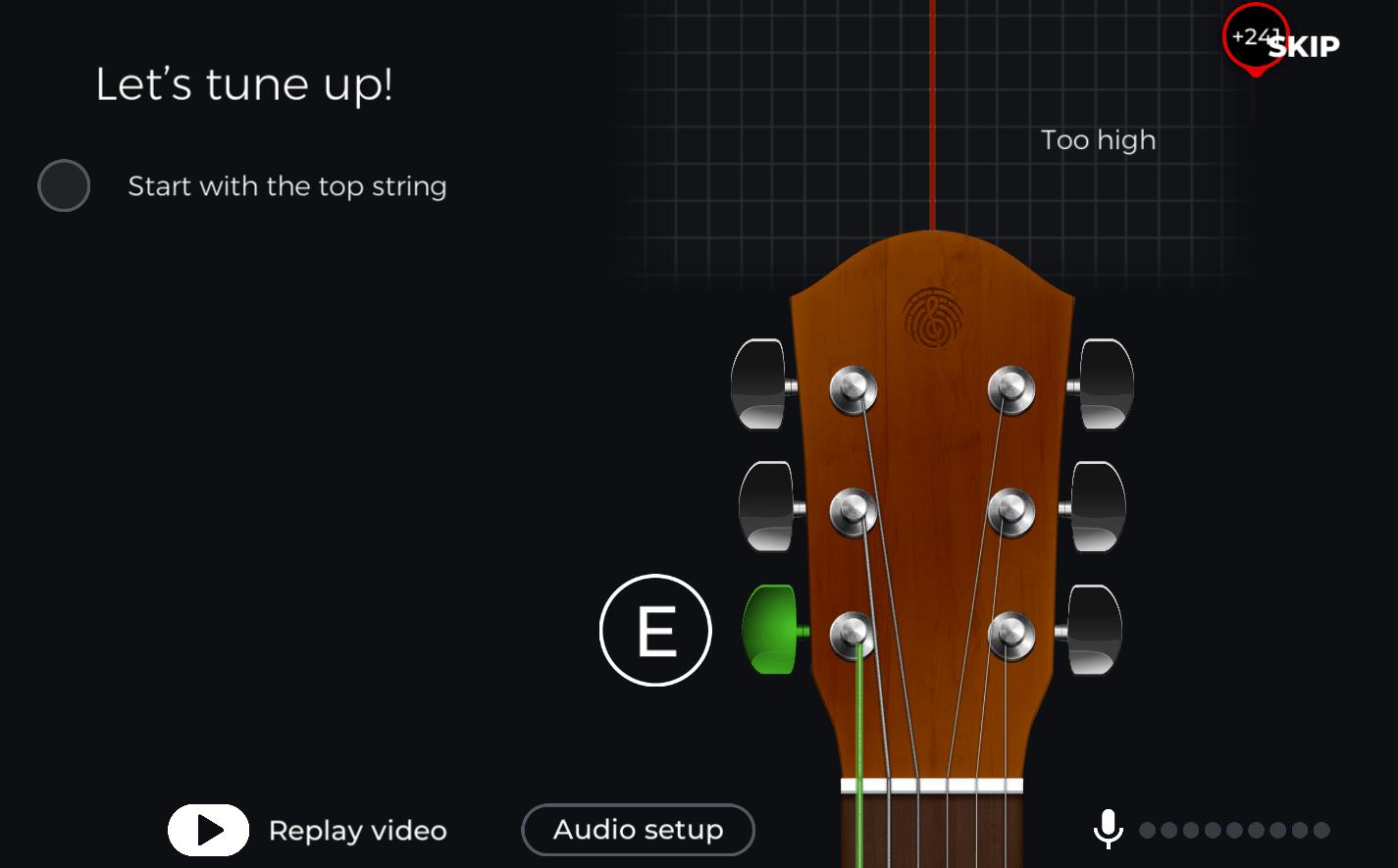 Yousician Guitar Tuner