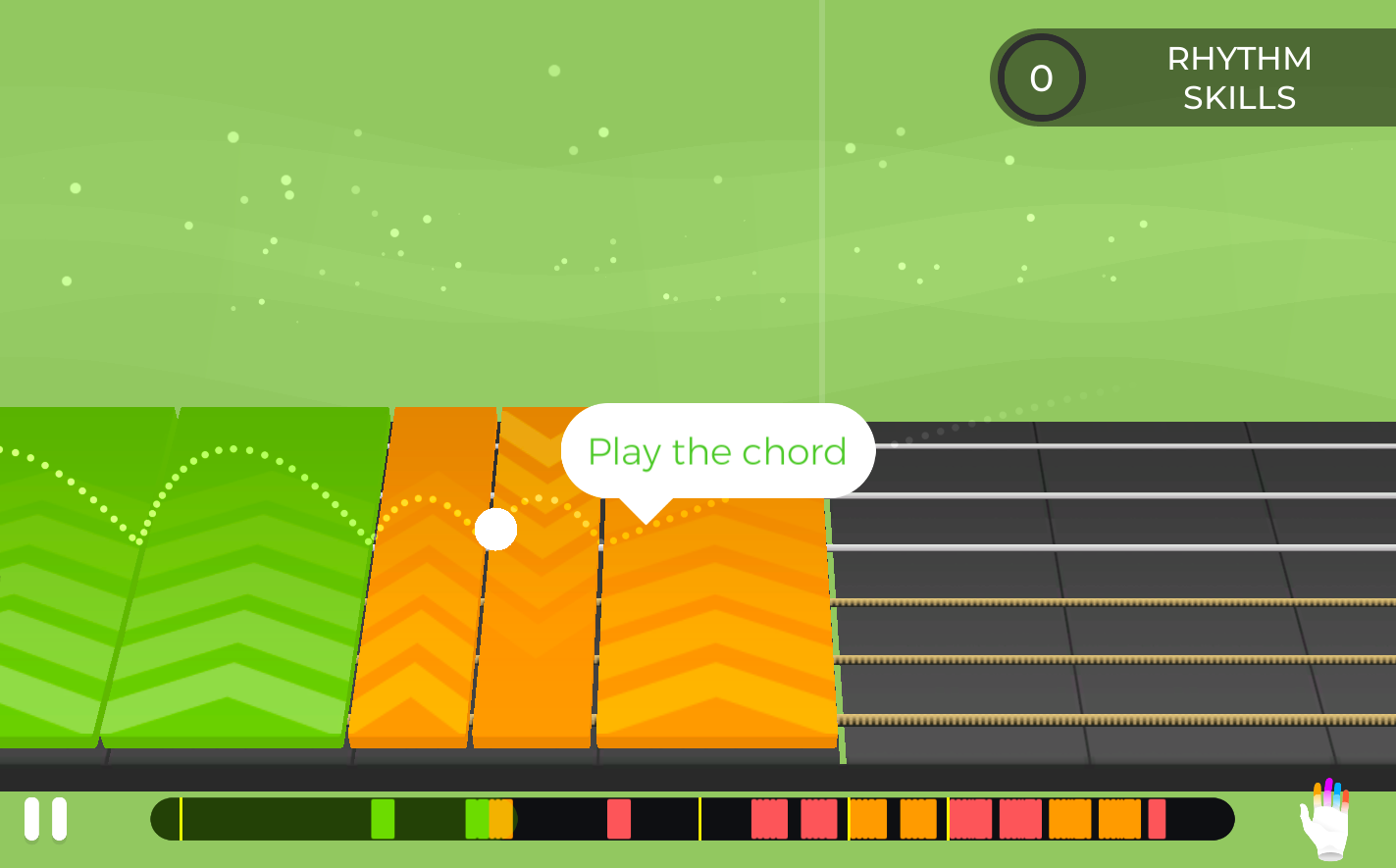 Yousician Screenshot - Best Guitar Lessons for ADD