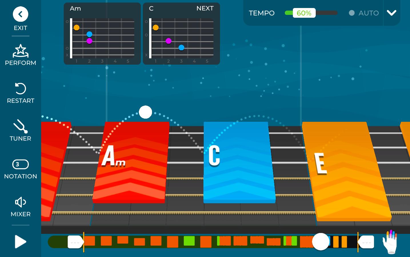 Yousician Interactive Guitar Lesson