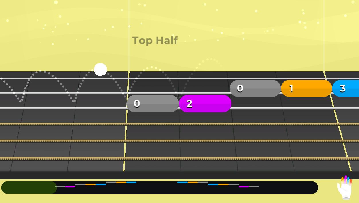 Yousician Interactive Guitar Tabs