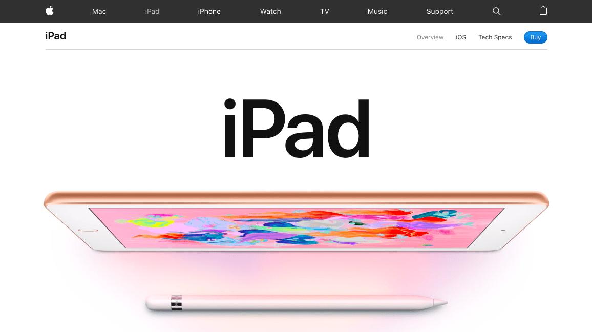 iPad Screen Grab