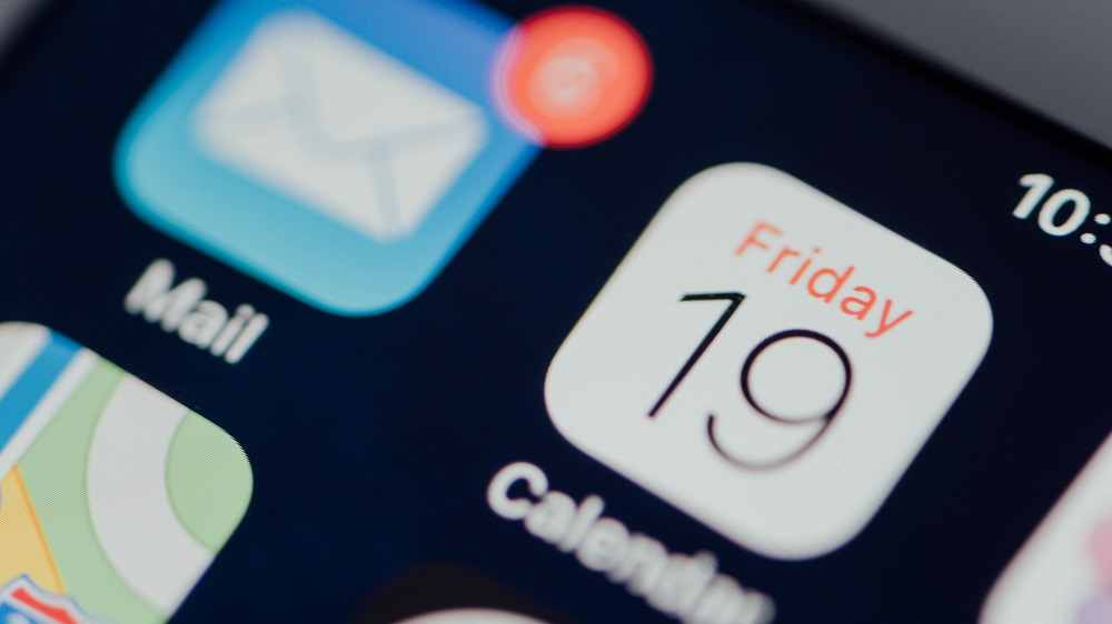iPhone Apps - Screen Closeup