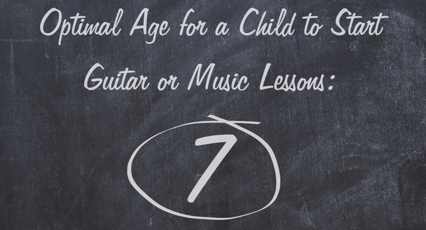 Optimal Age to Start Guitar Lessons