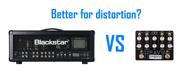 Amp VS Pedal Distortion (banner photo)