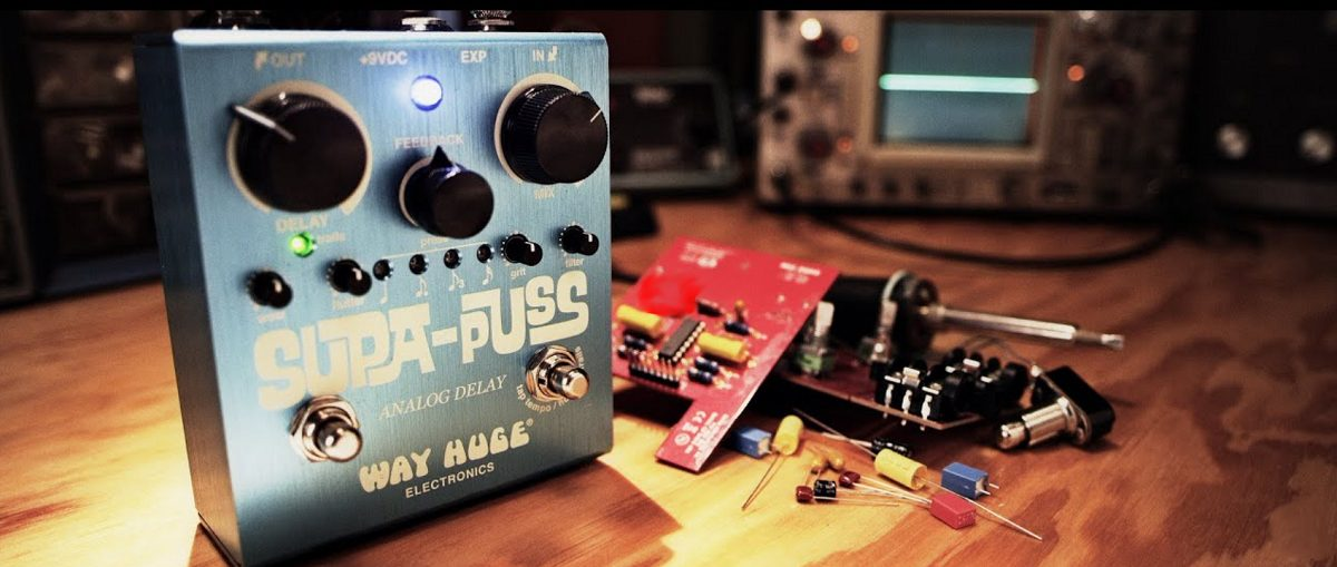 Delay Pedals with Tap Tempo Banner Photo