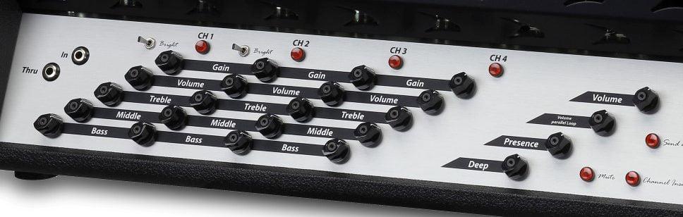 Diezel VH4 Controls (front panel)