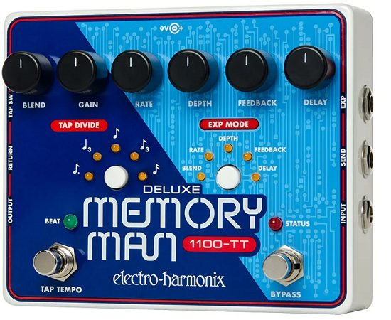 EHX Memory Man Deluxe with Tap Tempo