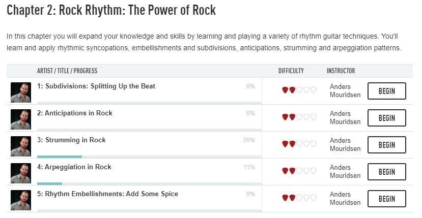 Rock Guitar Tricks Course -Chapter 2