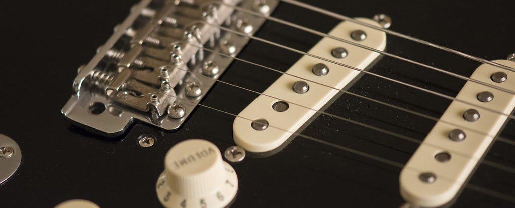Fender Stratocaster Pickups (closeup)