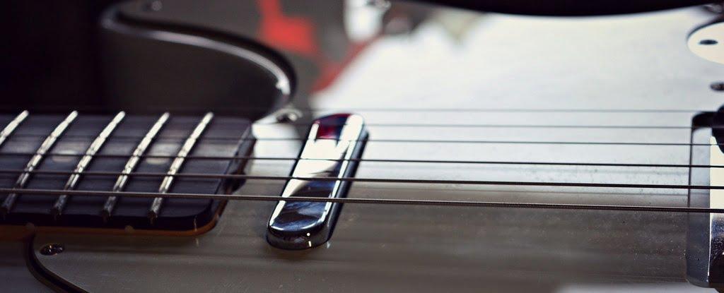 Fender Telecaster Pickups (closeup)