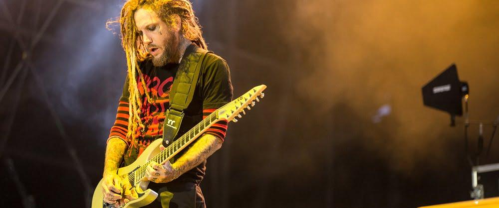 Korn - Brian Welch - Live Shot