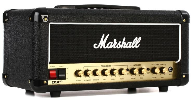 Marshall DSL20HR Side View