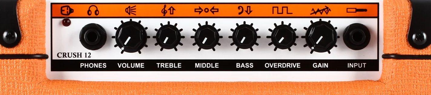 Orange Crush 12 Combo Control Panel (preamp)