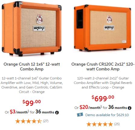 Orange Crush 12 VS 120C