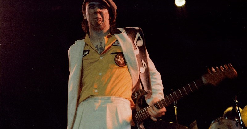 Stevie Ray Vaughan Playing his Stratocaster