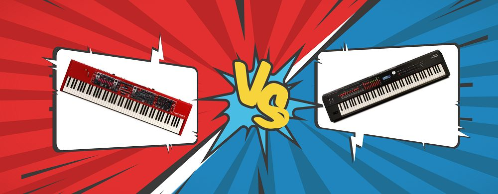 Nord Stage 3 VS Roland RD 2000