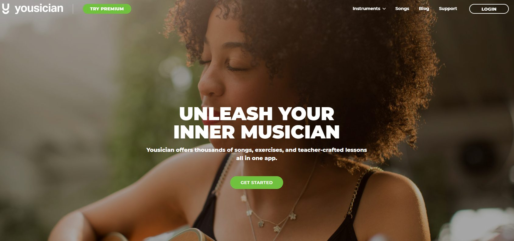 Yousician Home Page