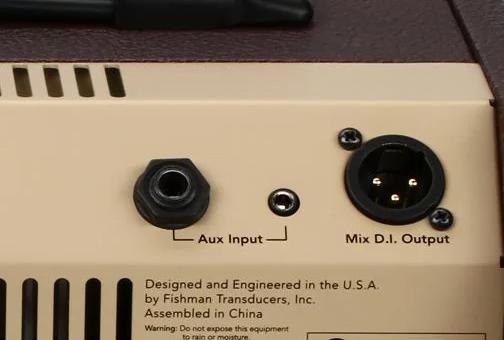 Fishman Loudbox DI Output for Mixer (XLR balanced)