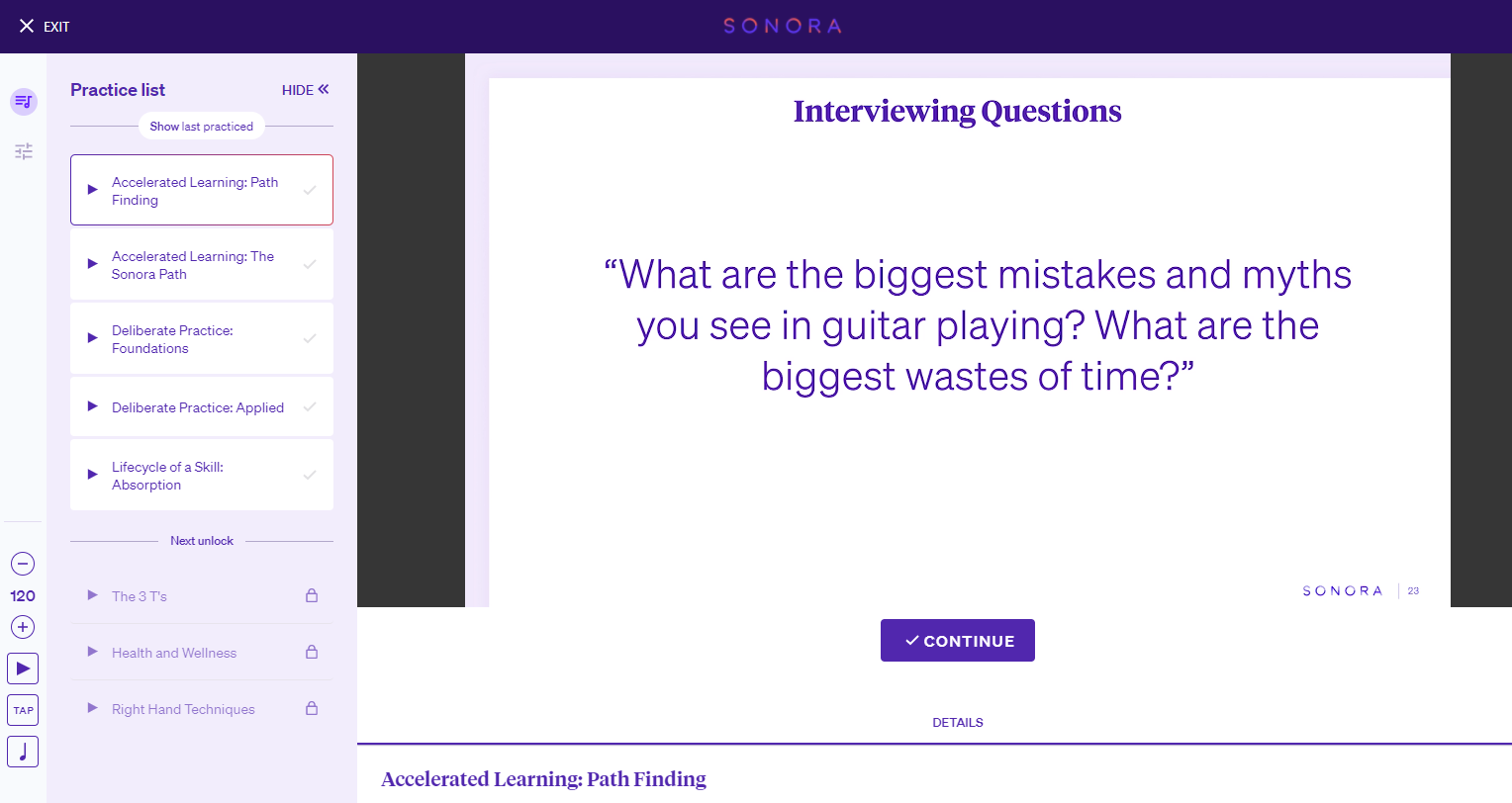 Interviewing Questions