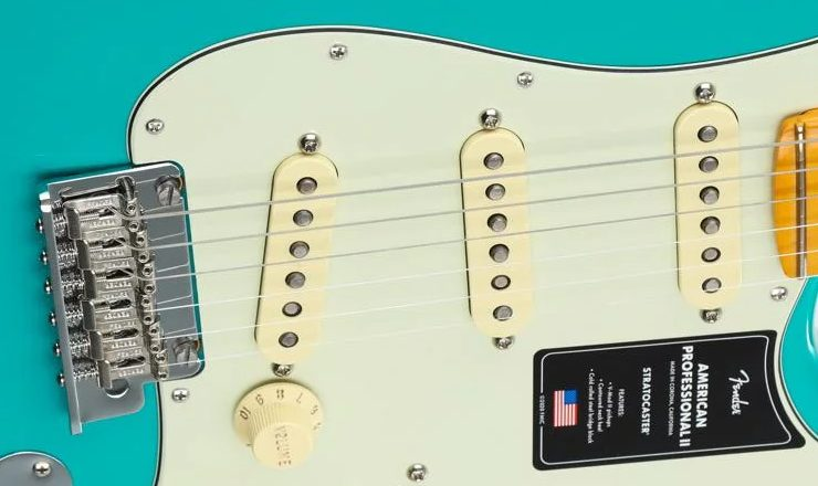 Pickups on the Fender American Stratocaster