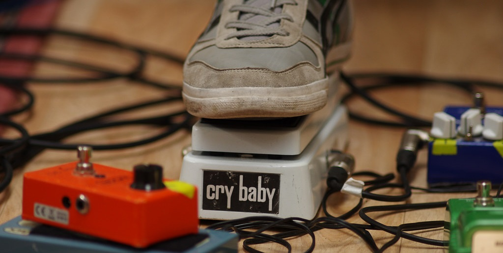 Cry Baby Wah Pedal with Other Pedals