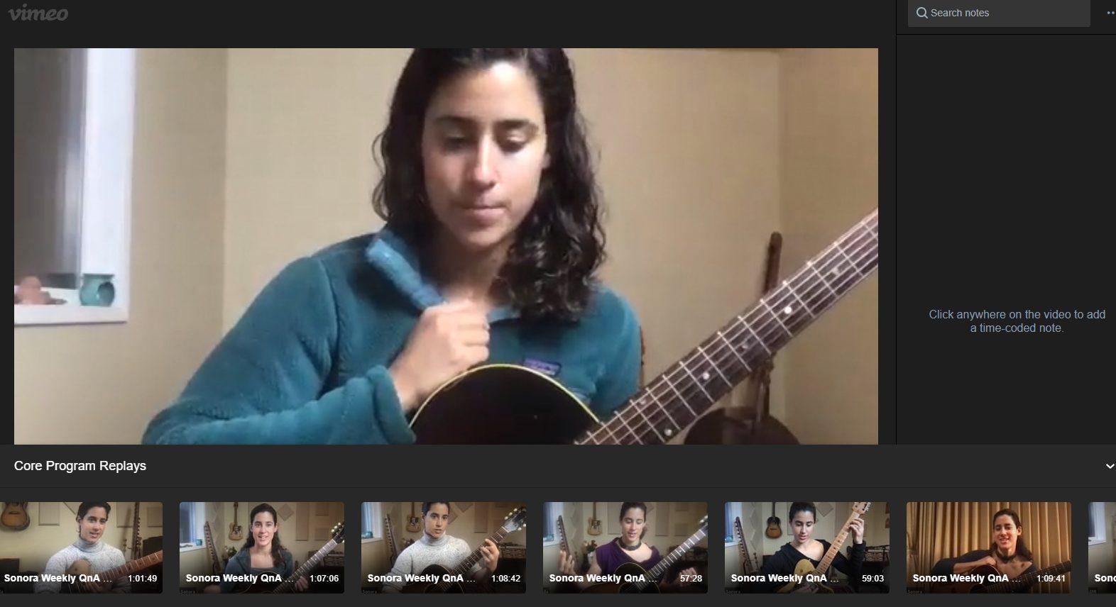 Ila's Live Guitar Lesson Replay