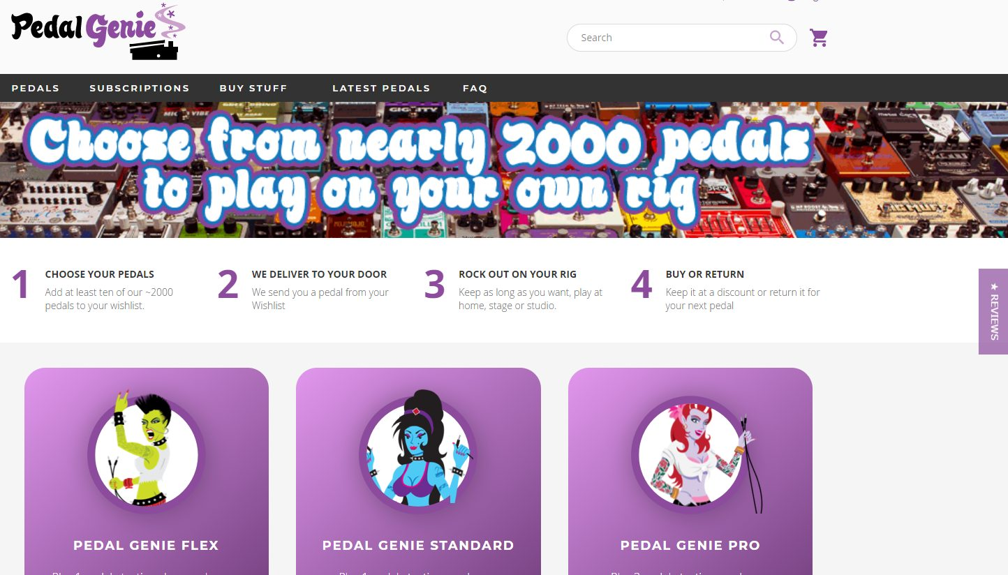 Pedal Genie Home Page