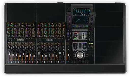 Avid S4 Dimensions Image from Sweetwater
