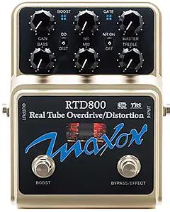 Maxon RTD800 Tube Overdrive