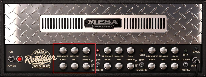 Mesa Boogie Korn Amp Settings