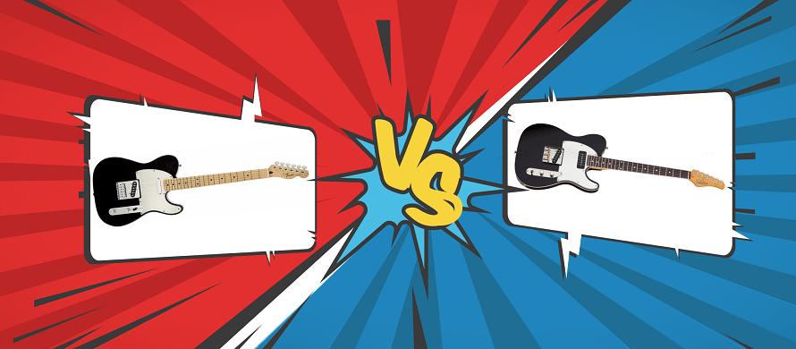 Schecter PT Special VS Fender Telecaster
