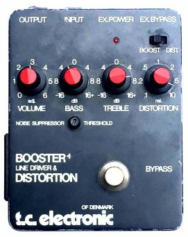 TC Electronic Booster+ Line Driver and Distortion