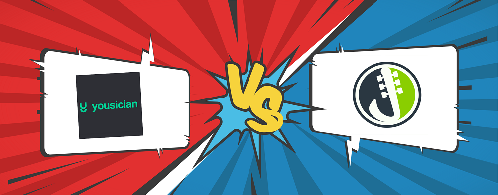 Yousician VS Justinguitar
