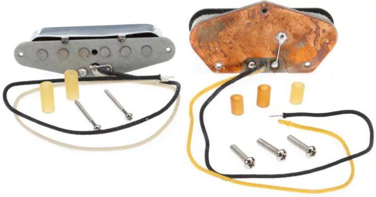 Back of Fender Pure Vintage Telecaster Pickups
