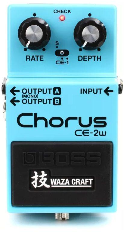 Boss CE-2w Waza Craft Chorus Pedal