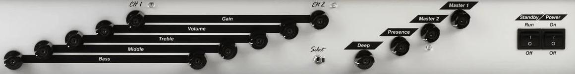 Diezel VH2 Control Panel