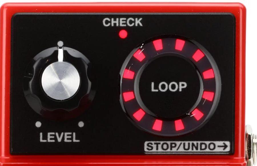 LED Indicator on Boss RC-1