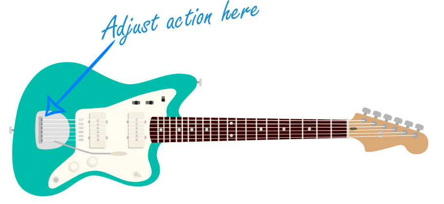 Adjust Action on an Electric Guitar