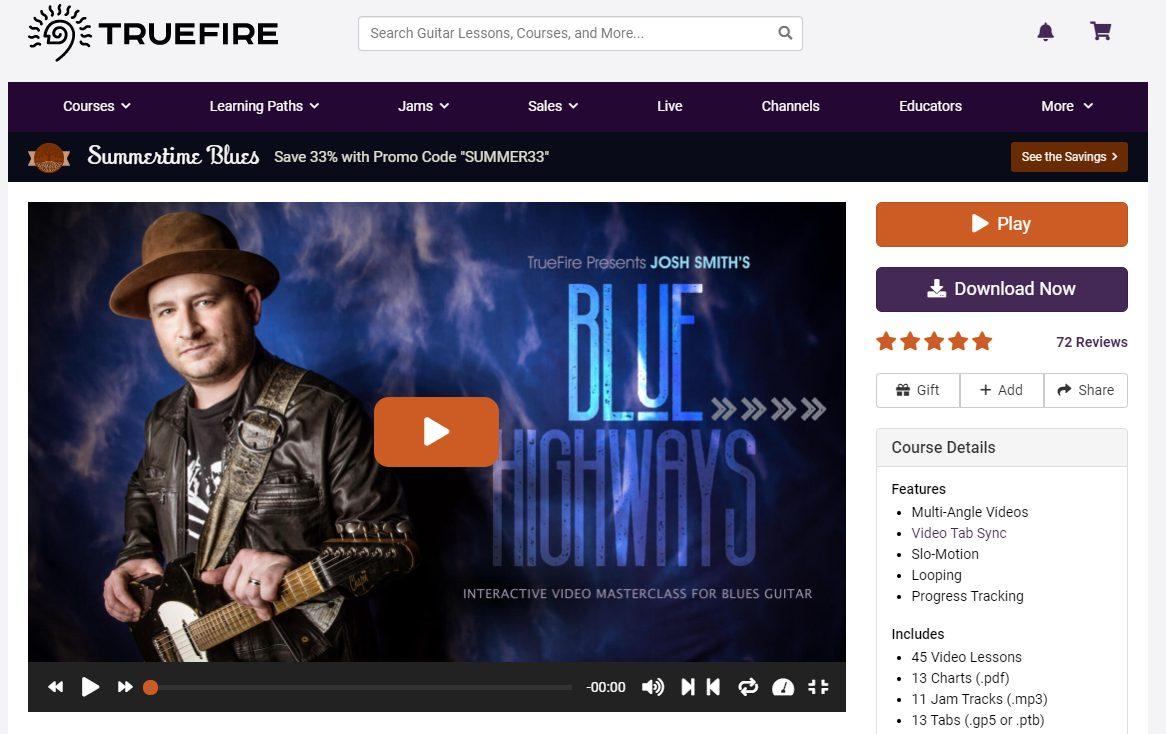 Blue Highways - Josh Smith