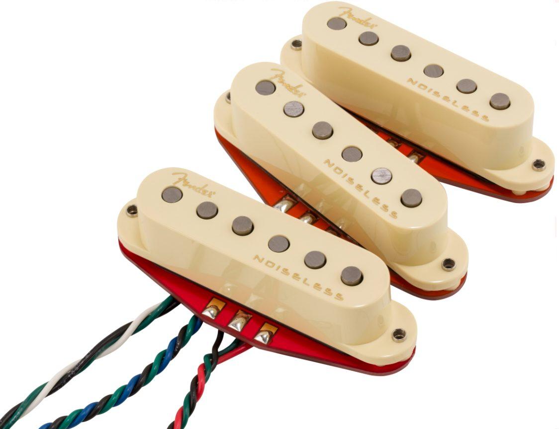 Fender Ultra Noiseless Hot Strat Single-coil Pickups