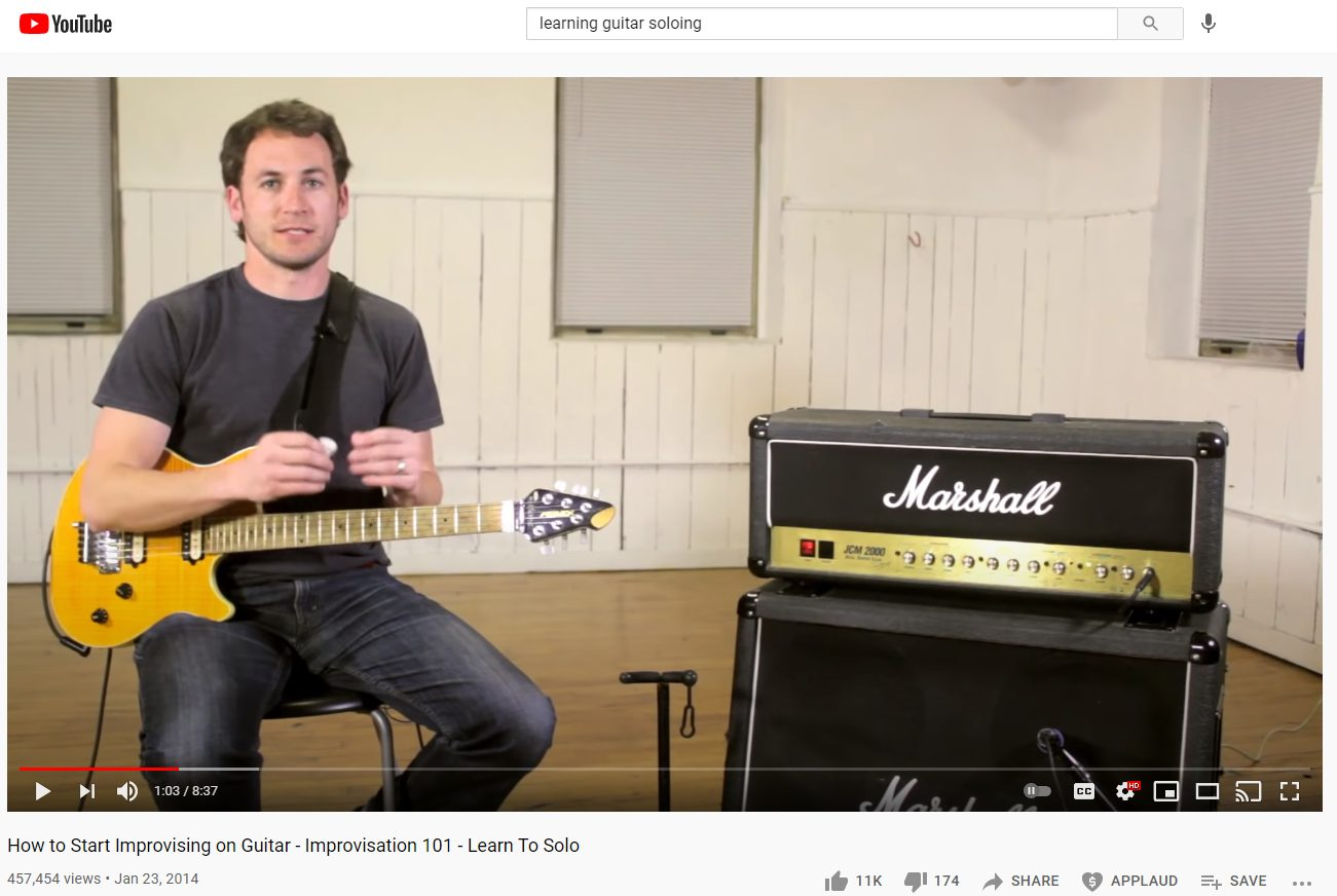 How to Start Improvising by Michael Palmisano