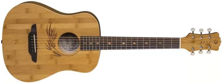 Luna Safari Bamboo Travel Guitar