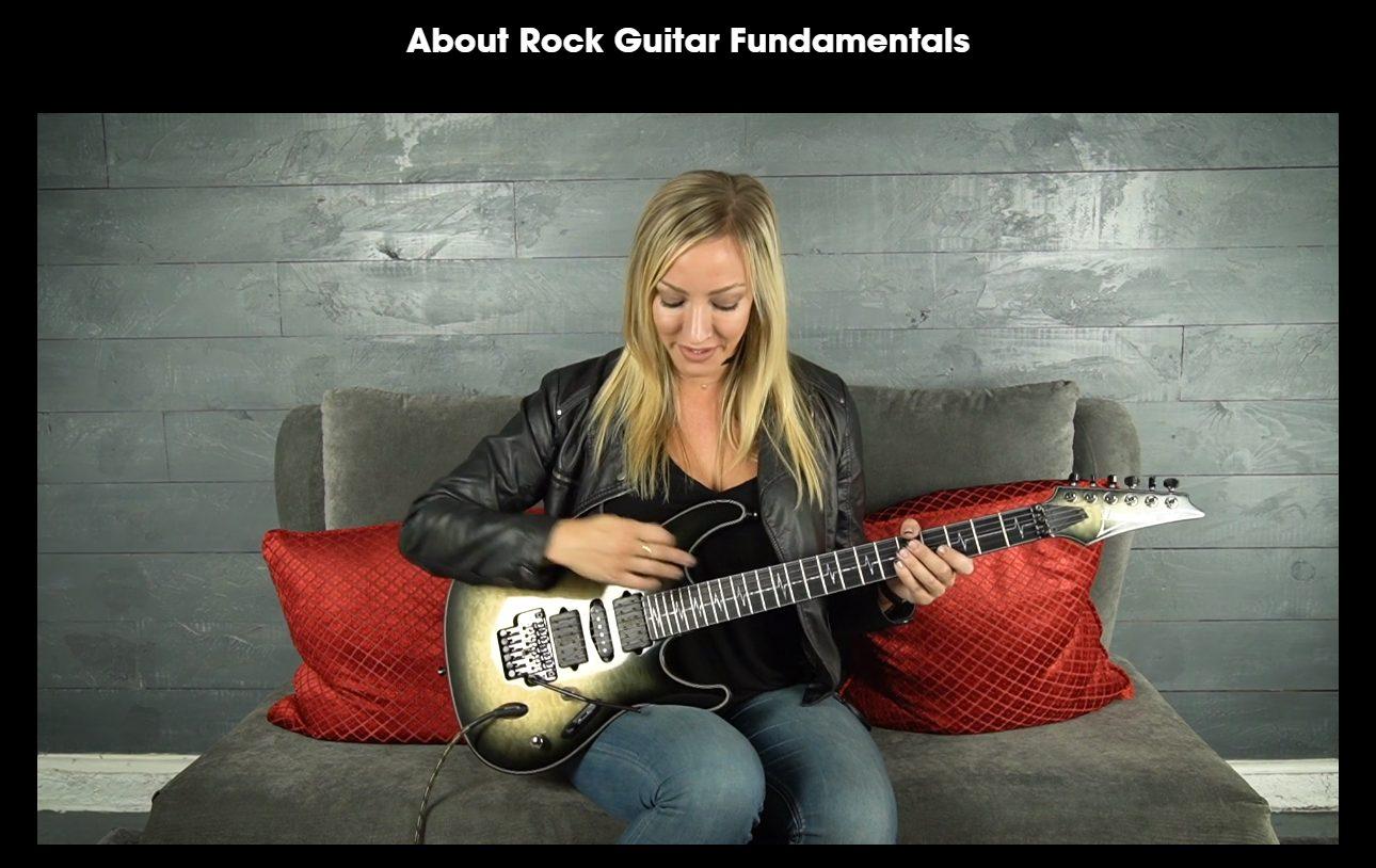 Rock Fundamentals Course by Nita Strauss