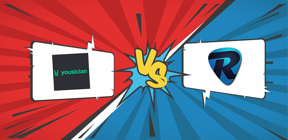 Yousician VS Rocksmith Banner Graphic