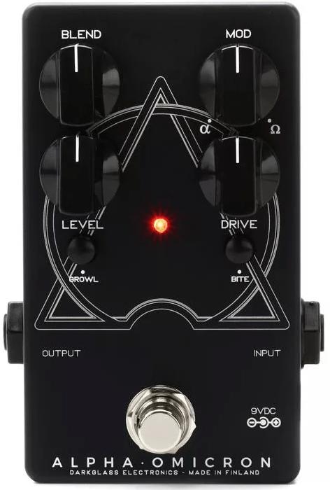 Darkglass Alpha Omicron Bass Preamp-OD Pedal