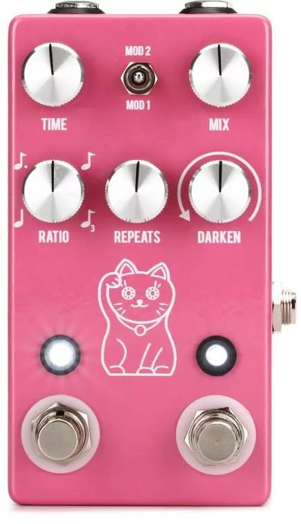 JHS Lucky Cat Tape and Digital Delay