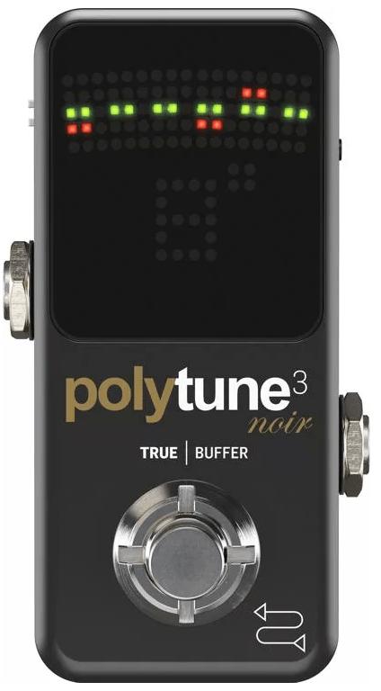 TC Electronic PolyTune 3 Noir Mini Polyphonic Tuning Pedal